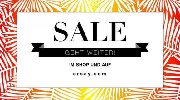 orsay sale