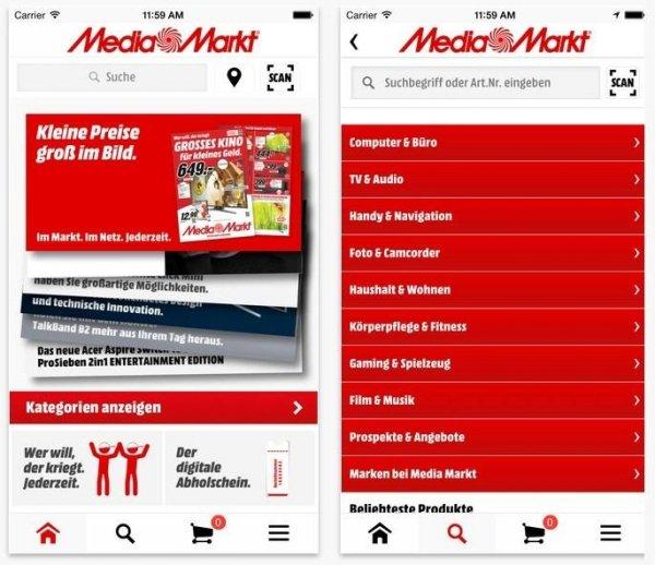 media markt mobile app