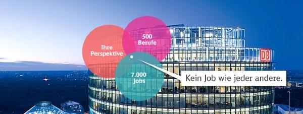 Kein Job wie der andere - Deutsche Bahn