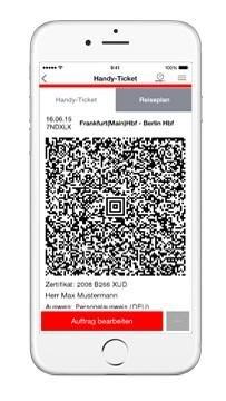 Handy Tickets mit der App