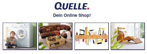 Elektrogeräte im QUELLE Online-Shop