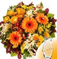 Gratis Vase für den Blumenstrauß