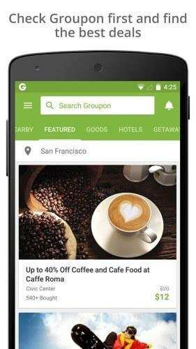 groupon mobile app