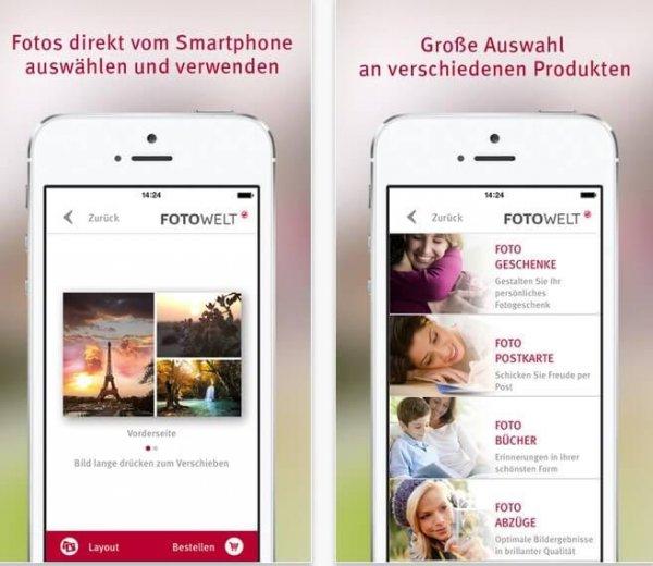 rossmann fotowelt app