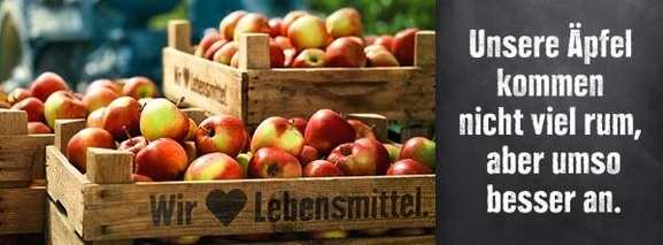 Frische Äpfel aus dem Sortiment