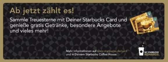 starbucks card rewards