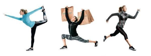 Günstige Mode für sportliche Aktivitäten