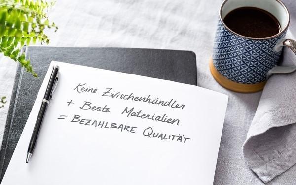 Bezahlbare Qualität im Online-Shop von URBANARA.de