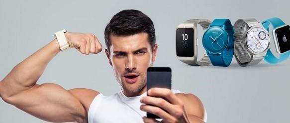 Smartwatches und Smartphones