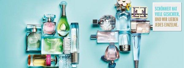 Der Online Shop Bereich Parfümerie