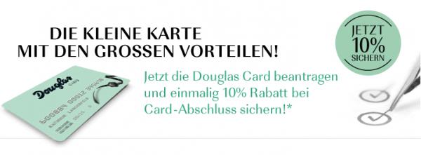 Die Vorteile der Douglas Card