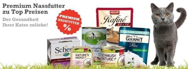 Premium Nassfutter für Katzen