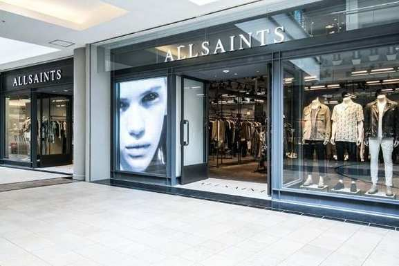 Ein All Saints Store
