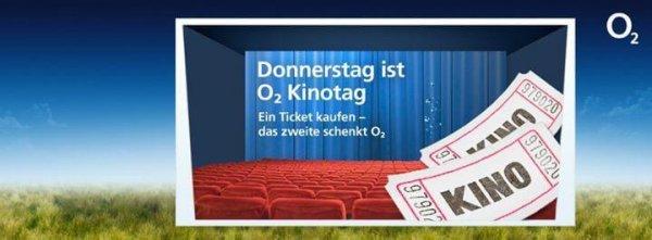 Kinotag für o2 Kunden