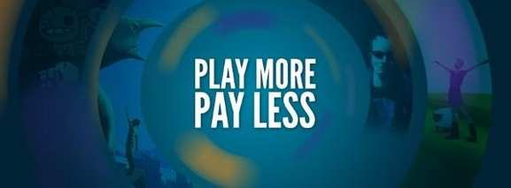 play more, pay less