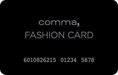 comma fashioncard