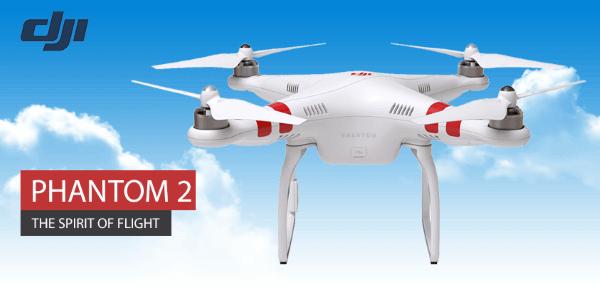 Die Phantom 2 Drohne bei ZackZack