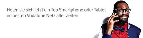 Smartphones mit Vodafone