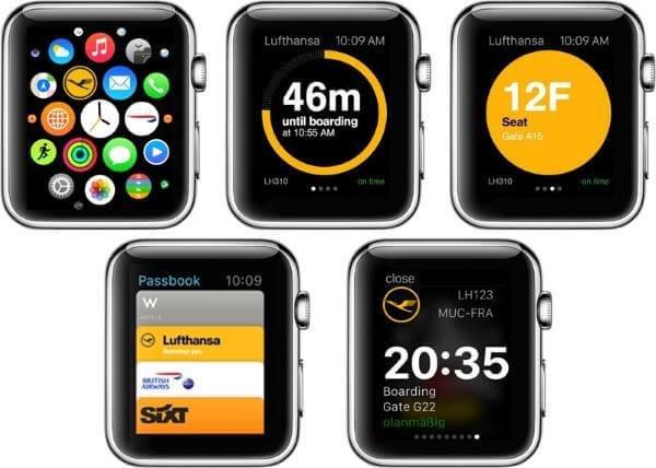 Lufthansa App für die Apple Watch
