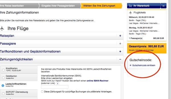 So löst man einen Lufthansa Gutschein ein