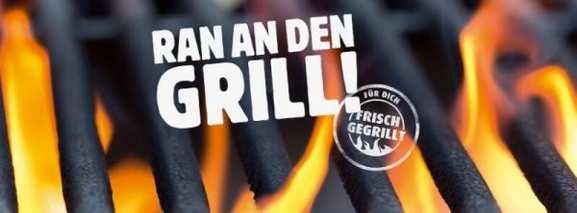 Ran an den Grill Aktion