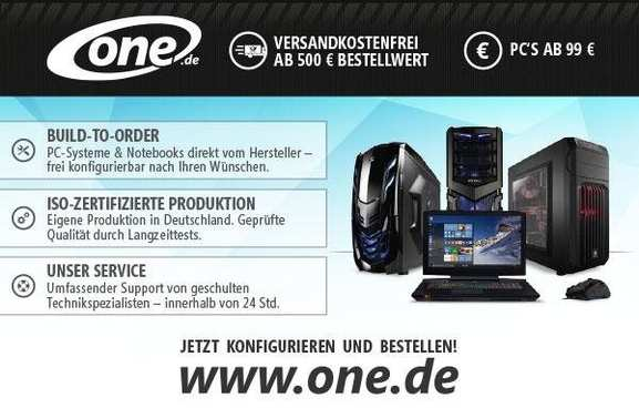 One.de Online Shop