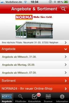 Die Norma App
