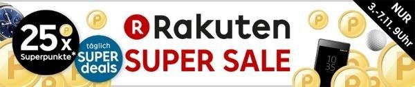 Der Rakuten Super Sale