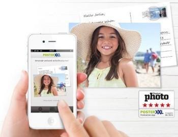 PoserXXL Postkarten App