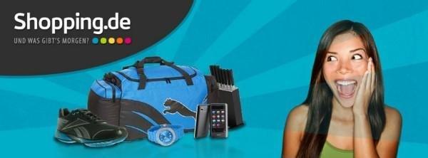 Shopping.de Angebote aus Mode und Elektronik