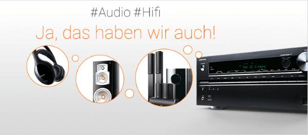Audio und HiFi im OnlineShop