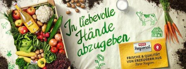 Regionale Produkte im REWE Sortiment