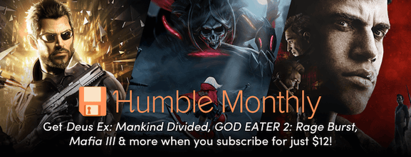 Humblebundle – monthly bundle – mydealz