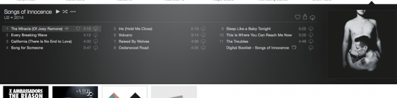 itunes player musik
