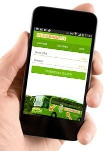 Die App von MeinFernbus