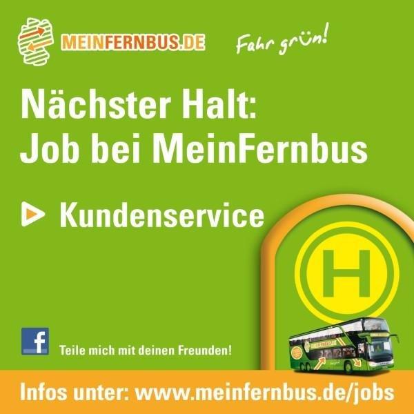 Jobs & Karriere bei MeinFernbus
