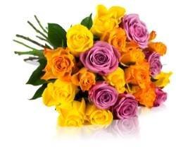 Ein Beispiel von einem Blumenstrauß