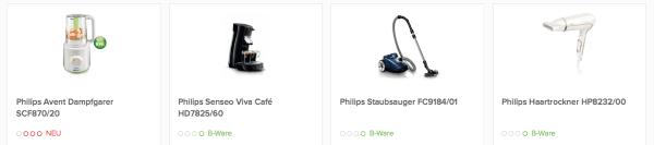Philips Produkte im Favorio Online-Shop