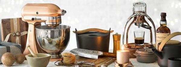 Großes Sortiment an Küchenhelfer