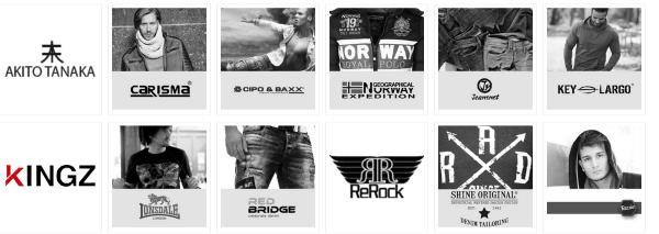 Mode Marken bei Yancor.de