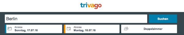 Hotel-Preisvergleich Trivago