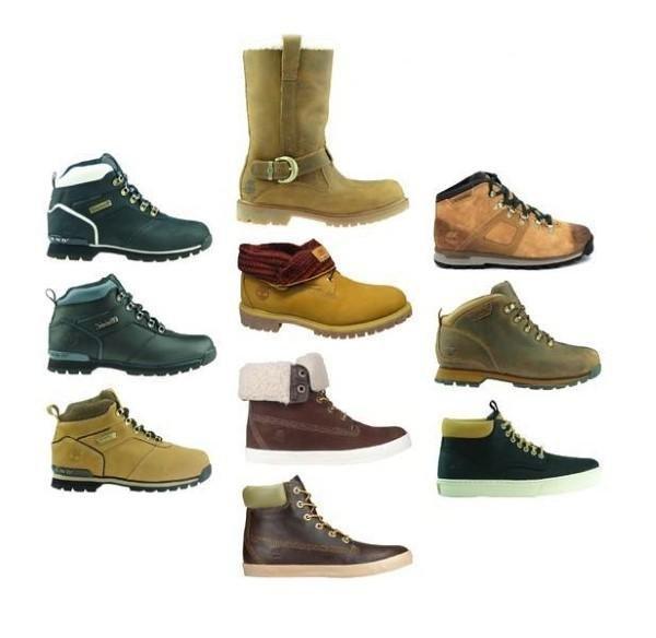 Große Vielfalt an Schuhen