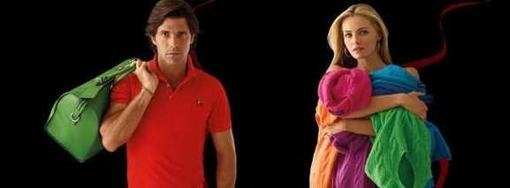 Farbenfrohe Polo Shirts