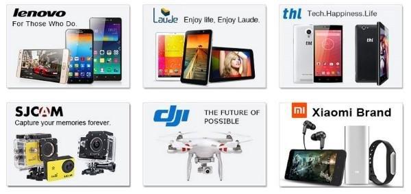 Beliebte Marken bei TinyDeal