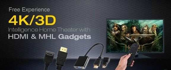 Zubehör für 4K und 3D Fernseher