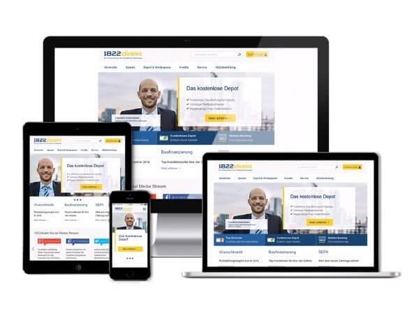 Onlinebanking auf unterschiedlichen Geräten