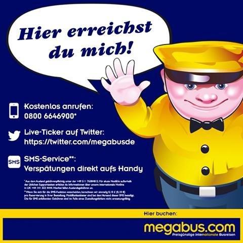 megabus kundenservice hotline