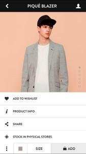 Mobile App von Pull and Bear