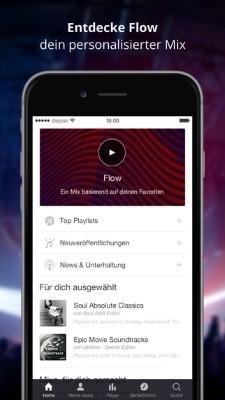 Deezer Musik App