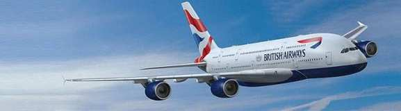 british airways a380 fluege